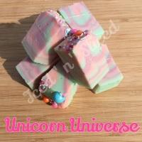 Unicorn Universe fudge pieces
