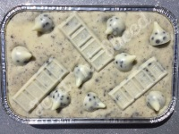 Hershey's Cookies & Cream fudge tray