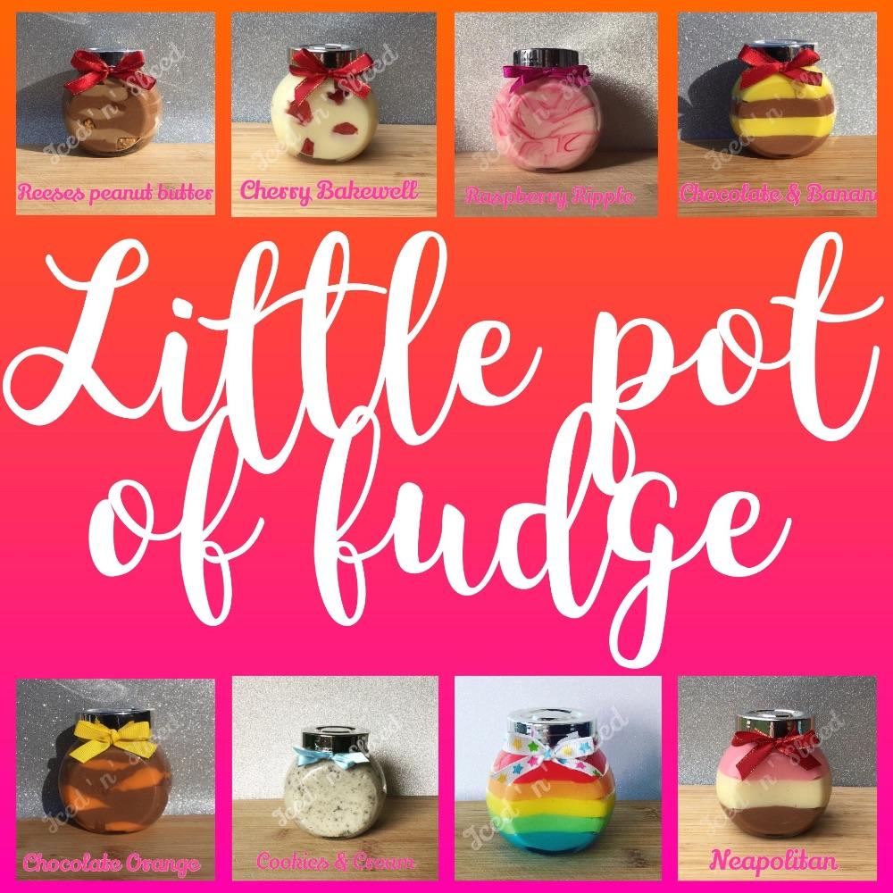 Little pot of fudge