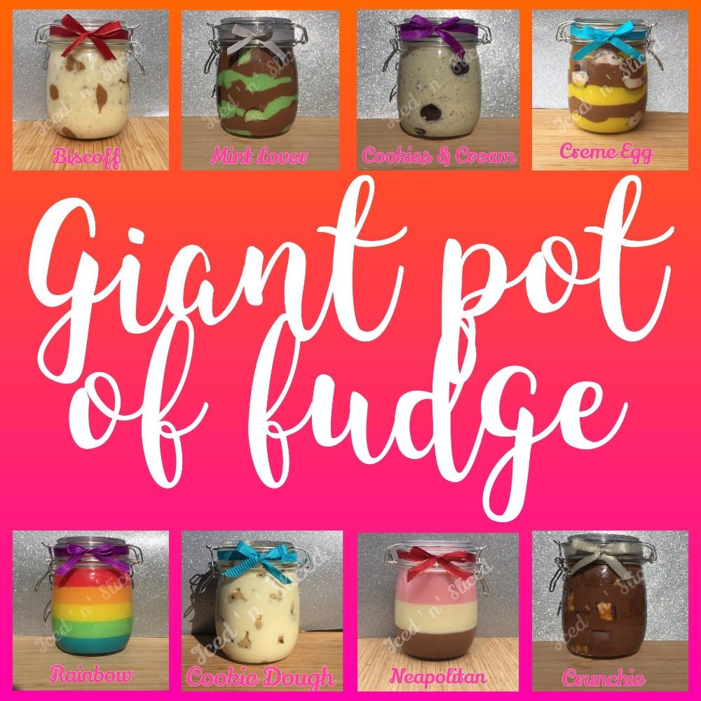 Giant Pot of Fudge