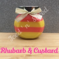 Rhubarb & Custard little pot of fudge