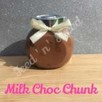 Milk Choc Chunk little pot of fudge