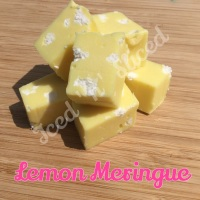 Lemon Meringue fudge pieces