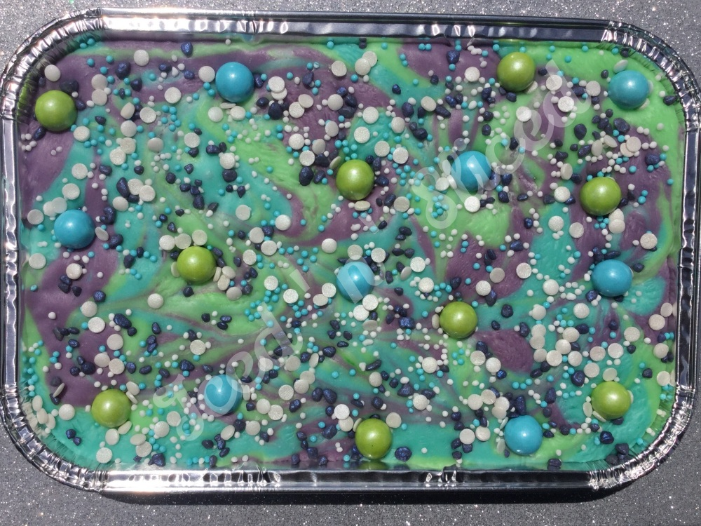 Mermaid Mystery fudge tray