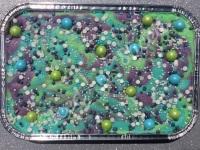 Mermaid Mystery fudge tray