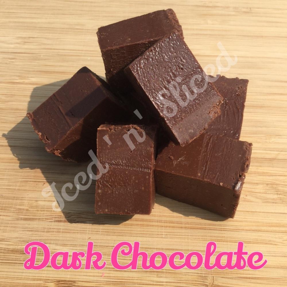Dark Chocolate fudge pieces