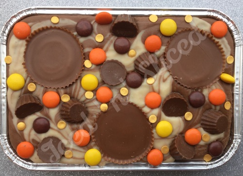 Reeses Fudge Tray