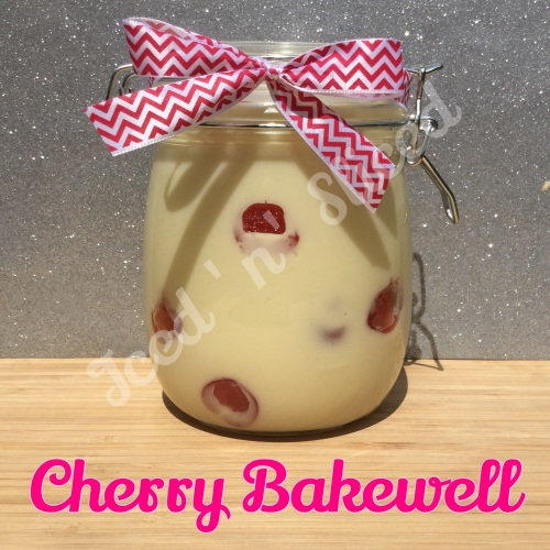 Cherry Bakewell giant pot of fudge