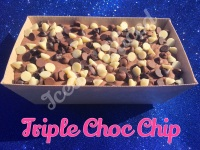 Triple Choc Chip giant fudge loaf