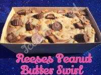 Reeses Peanut Butter Swirl giant fudge loaf