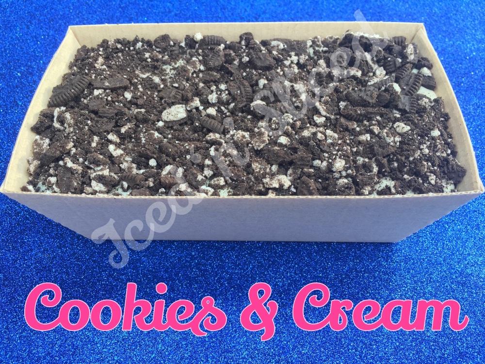 Cookies & Cream giant fudge loaf