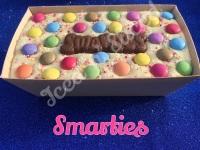 Smarties giant fudge loaf