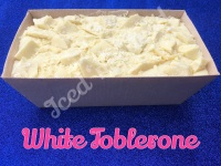 White Toblerone giant fudge loaf