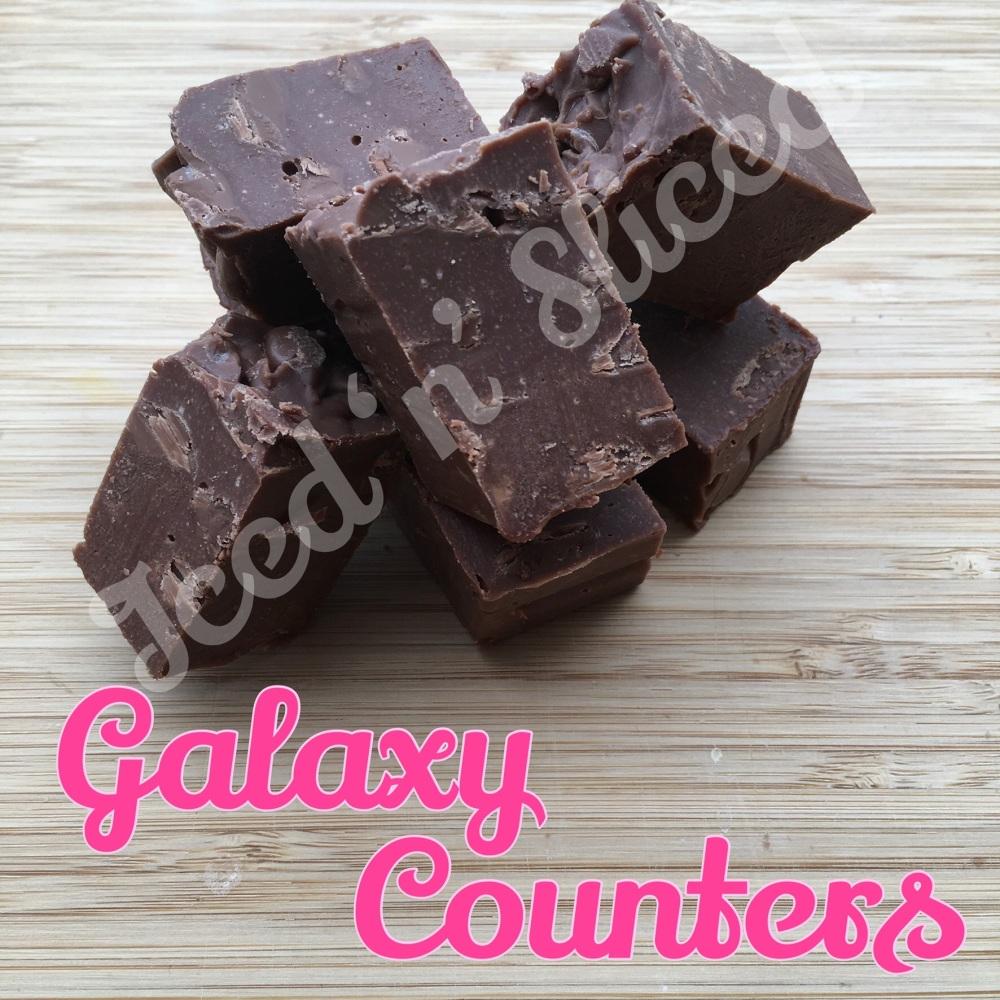 Galaxy Counters fudge pieces