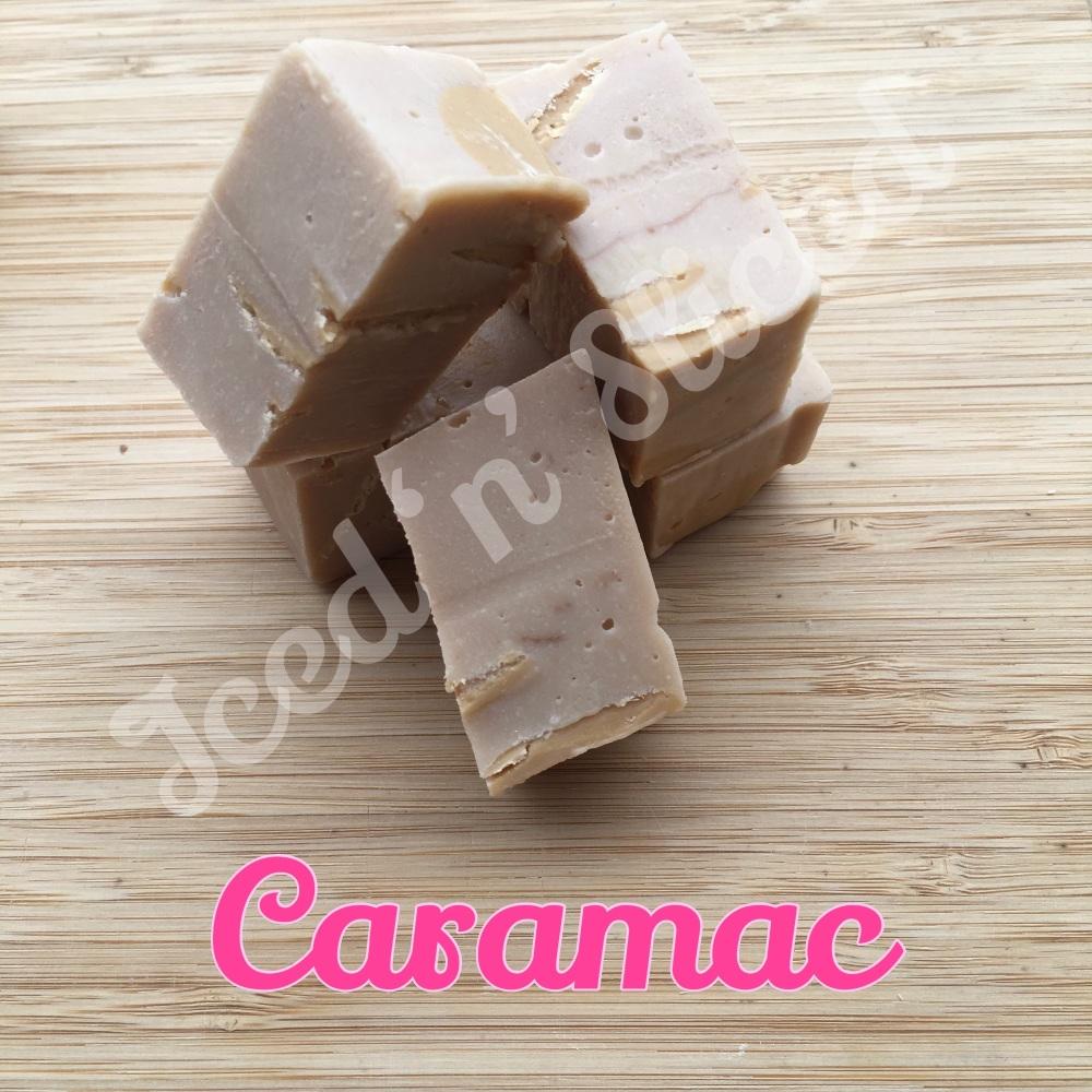 Caramac fudge pieces