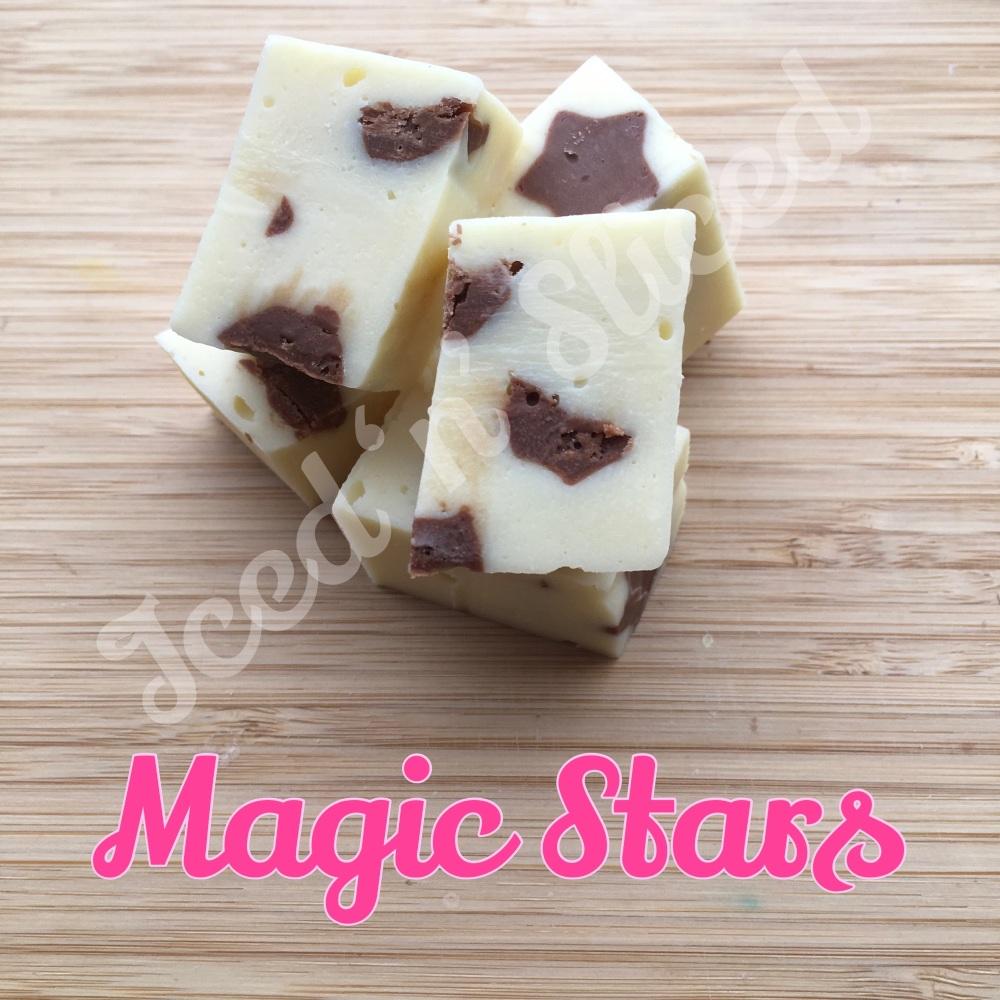 Magic Stars fudge pieces