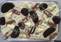 Oreo Overload fudge tray