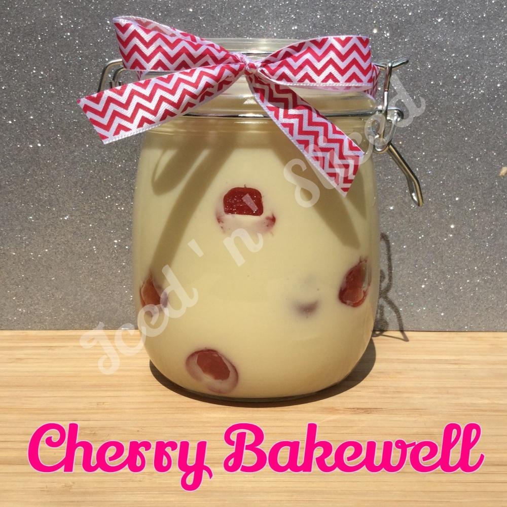 Cherry Bakewell giant pot of fudge