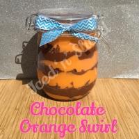 Chocolate Orange giant pot of fudge