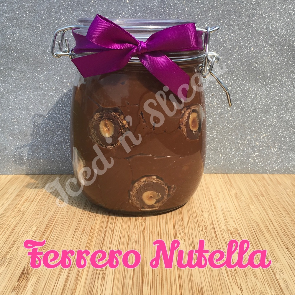 Ferrero Nutella giant pot of fudge