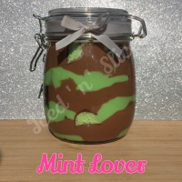 Mint Lover giant pot of fudge