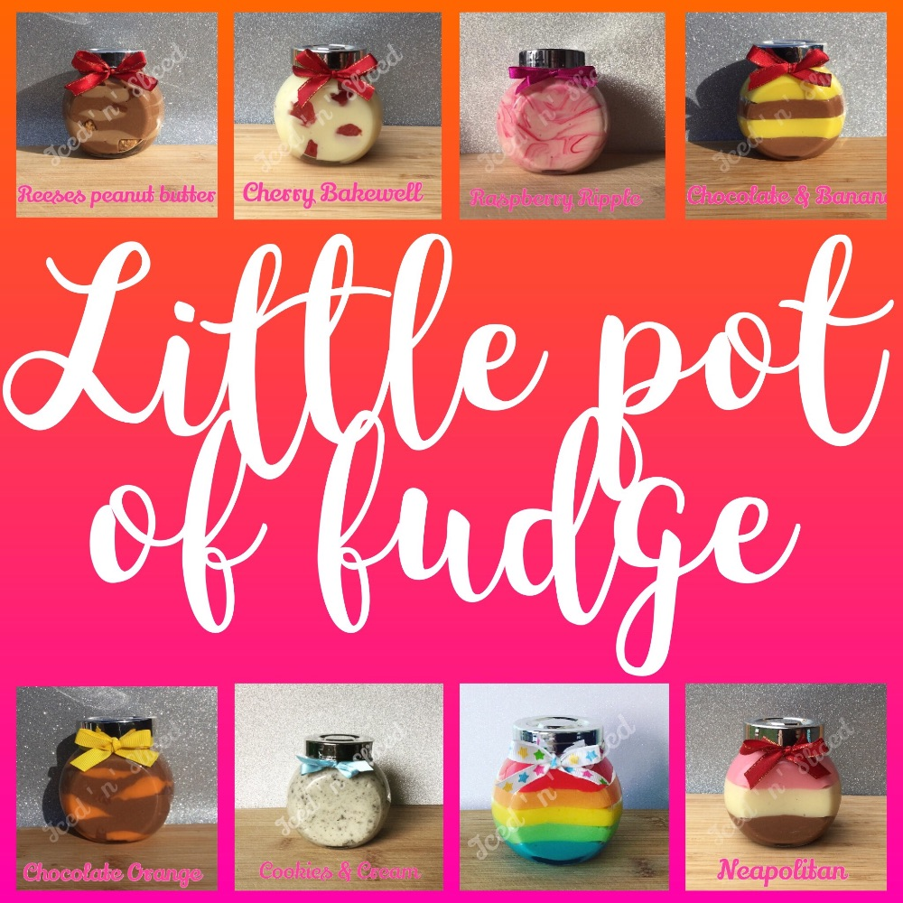 Little pots of fudge