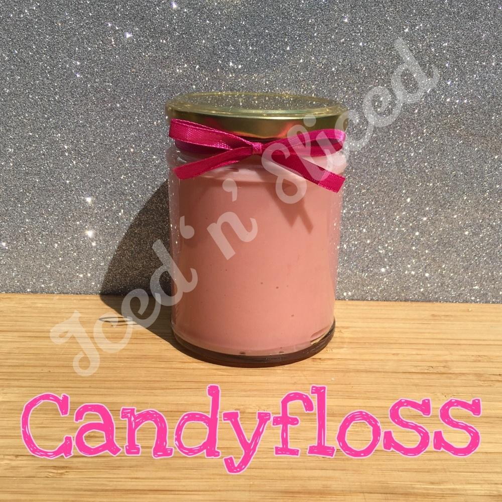 Candyfloss little pot of fudge