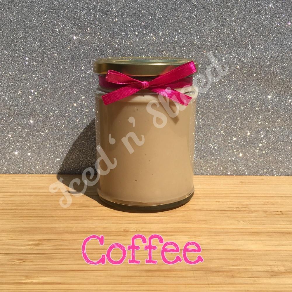 Coffee little pot of fudge