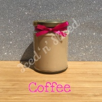 Coffee little pot of fudge