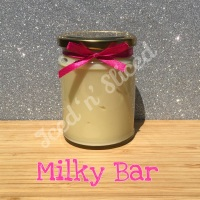 Milky Bar little pot of fudge