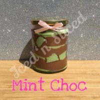 Mint Choc little pot of fudge