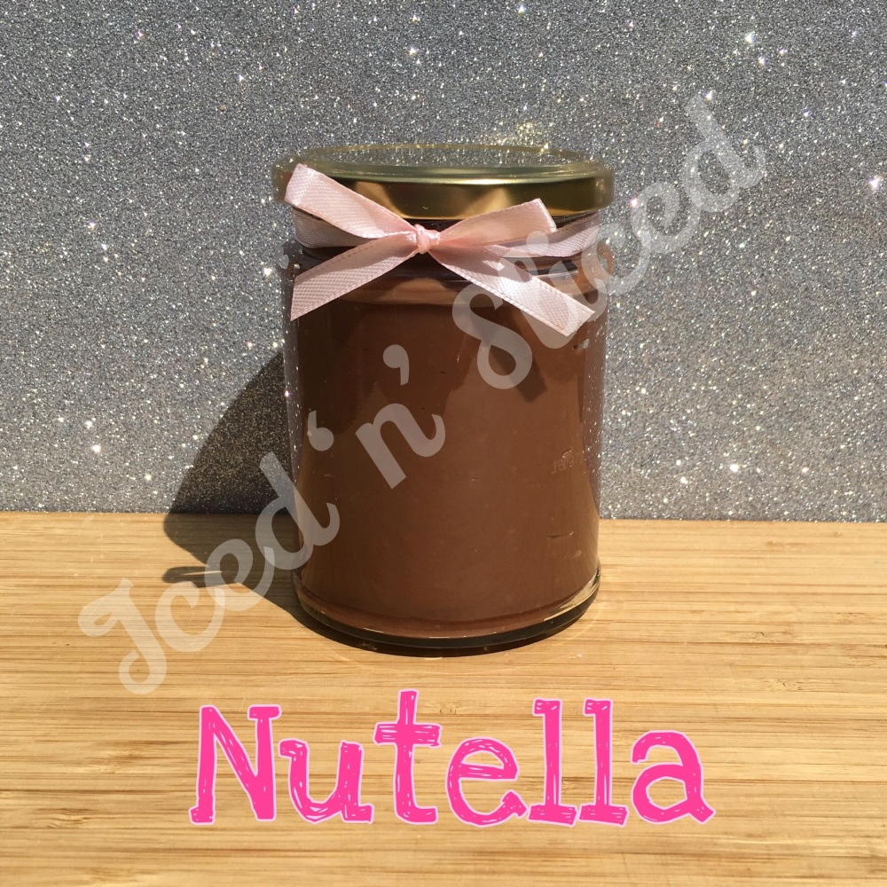 Nutella little pot of fudge