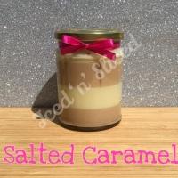 Salted Caramel little pot of fudge