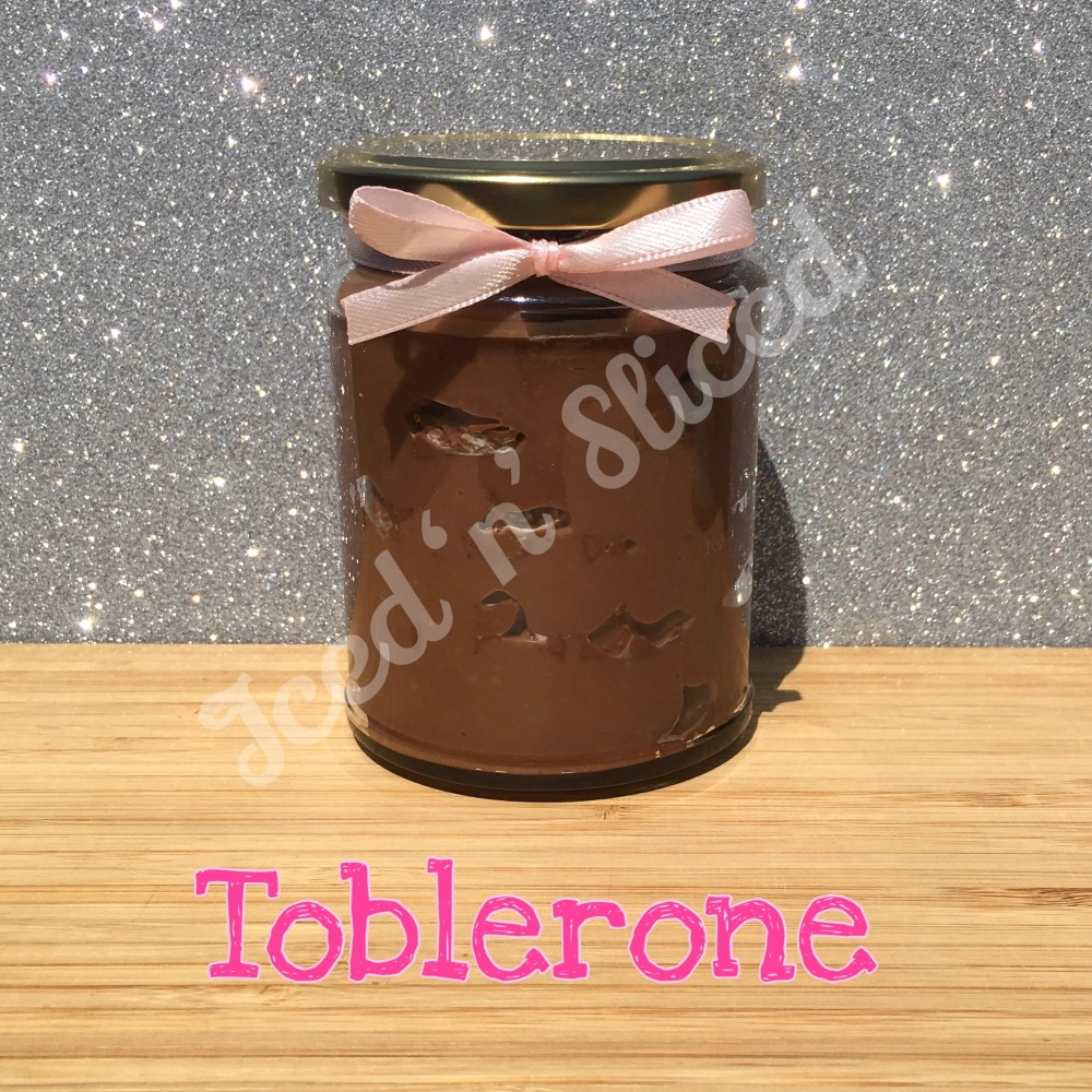 Toblerone little pot of fudge