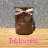 Toblerone little pot of fudge