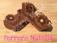 Ferrero Rocher mini fudge loaf