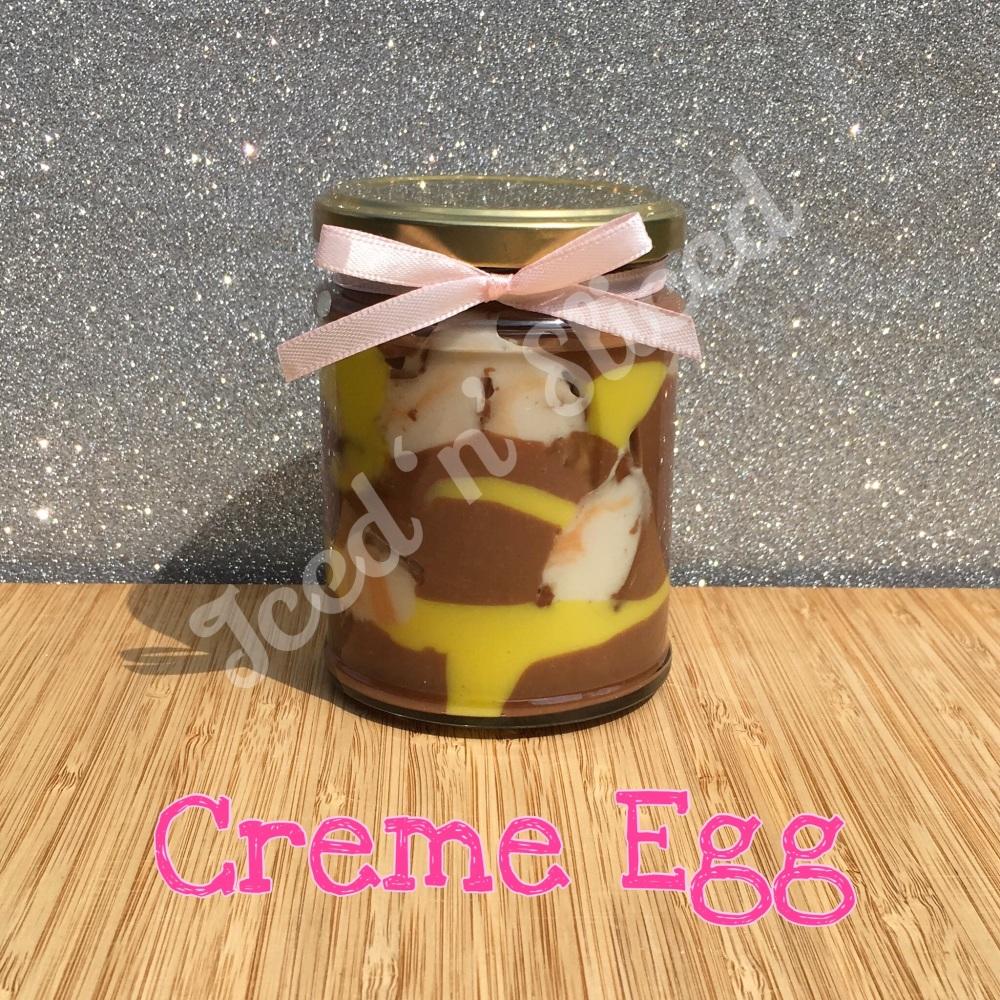 Creme Egg little pot of fudge