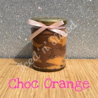 Choc Orange little pot of fudge