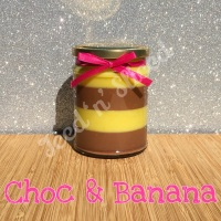 Choc & Banana little pot of fudge