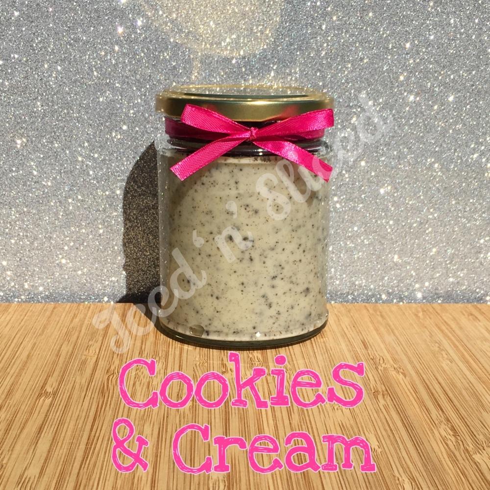 Cookies & Cream little pot of fudge