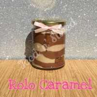 Rolo Caramel little pot of fudge