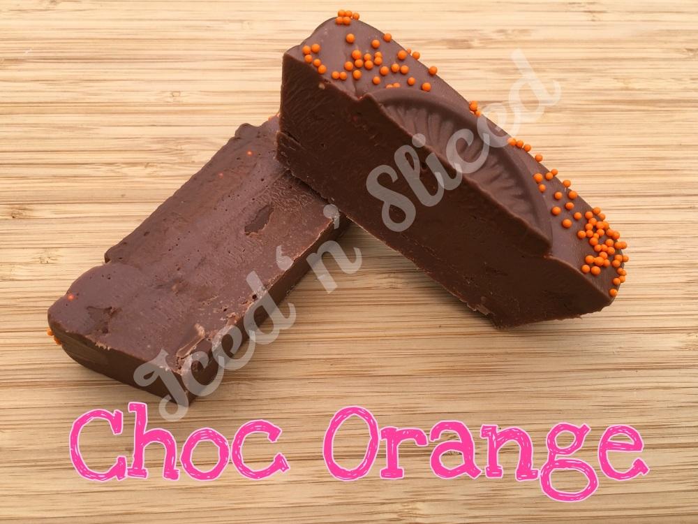 Chocolate Orange mini fudge loaf