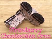 Strawberry Cheesecake Oreo mini fudge loaf