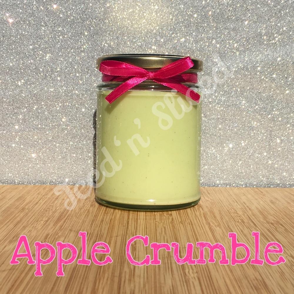 Apple Crumble little pot of fudge