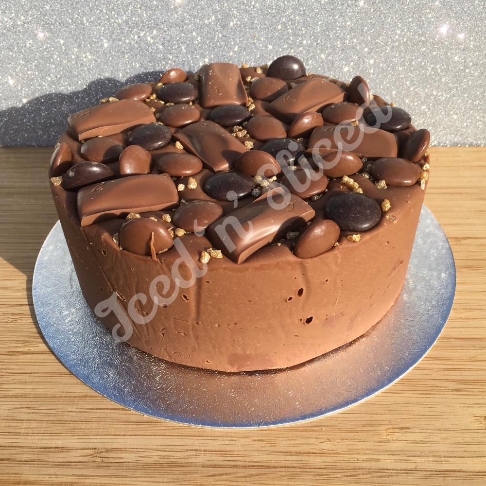 Galaxy Lover solid fudge cake