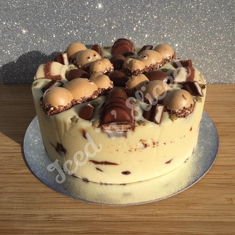 NEW Kinder Krazy solid fudge cake