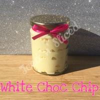 White Choc Chip little pot of fudge
