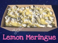 Lemon Meringue giant fudge loaf