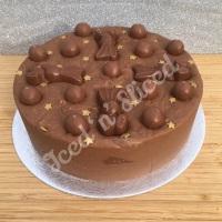 Maltesers Milk solid fudge cake