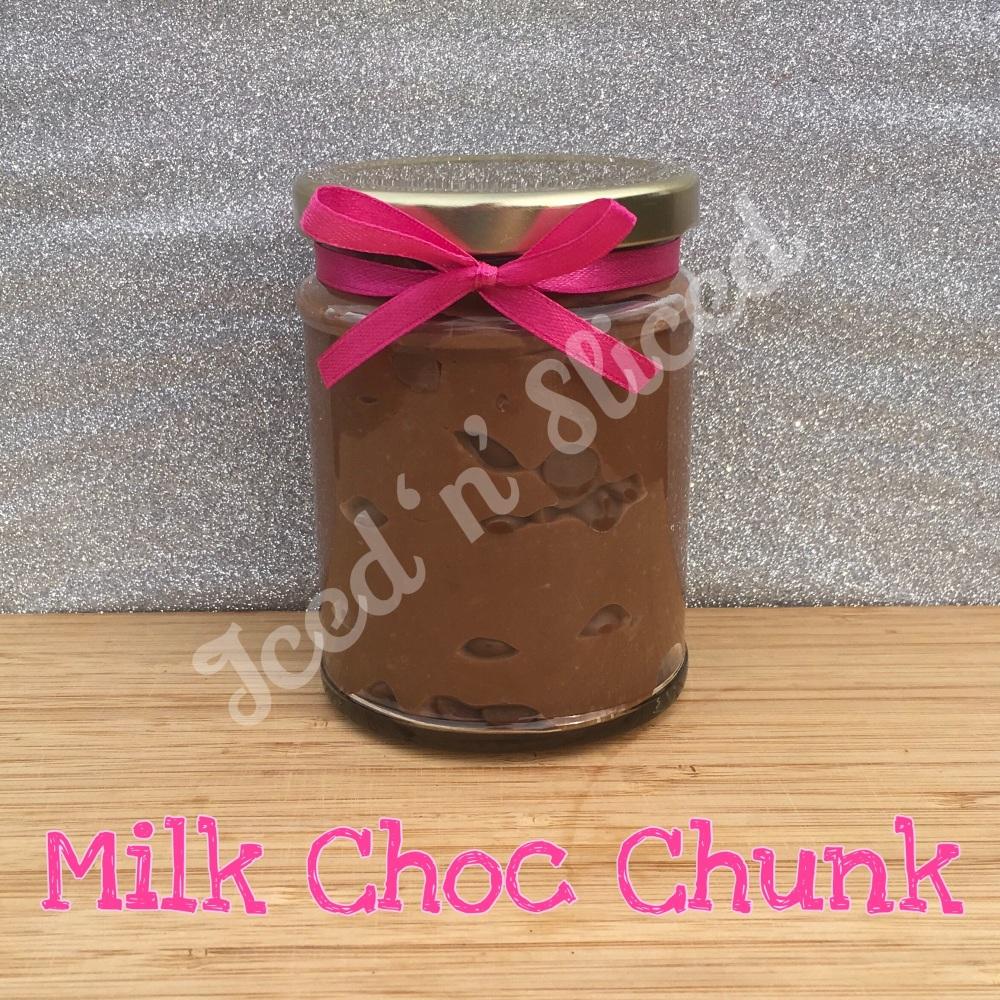 NEW JAR - Milk Choc Chunk little pot of fudge